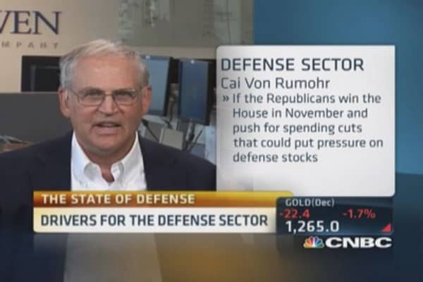 State of defense sector