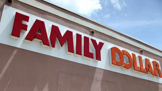 A Family Dollar store on July 28, 2014 in Hollywood, Florida.