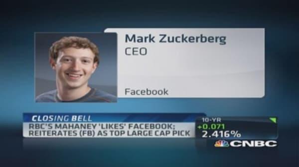 RBC's top pick: Facebook