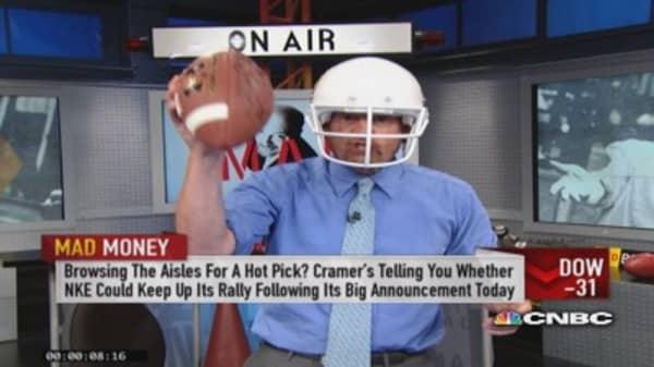 Cramer's fantasy stock draft: UA & HD