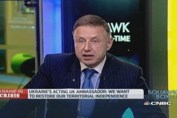 Ukraine needs military assistance: Ambassador