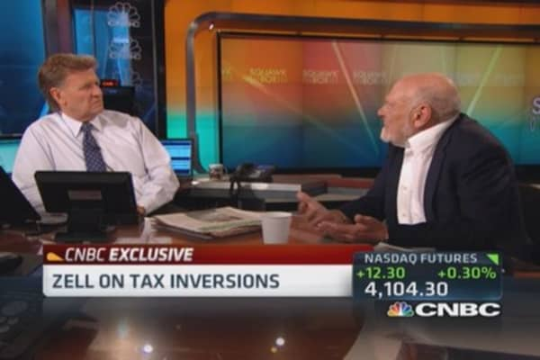 Sam Zell: Inversion 'a response' to existing law