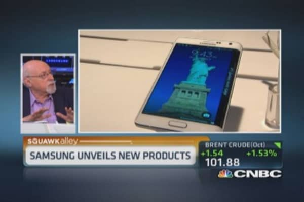 Samsung's new products