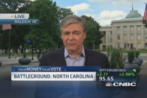 North Carolina Senate showdown