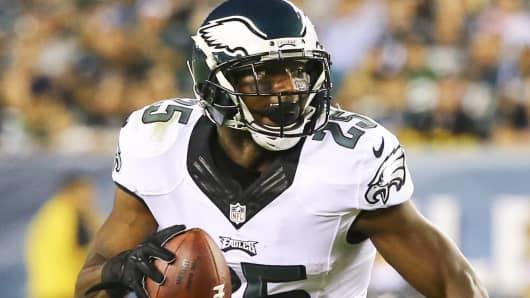 Running back LeSean McCoy of the Philadelphia Eagles