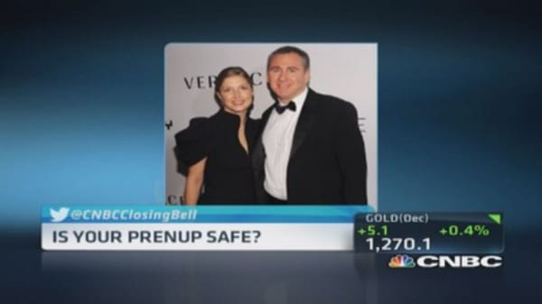 Billionaire divorce battle