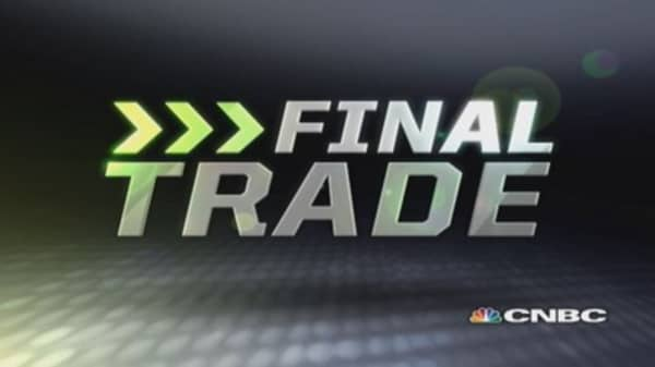 Fast Money Final Trade: DAL, XLE, SUNE & M
