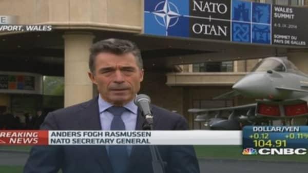 Russia must cease involvement in Ukraine: NATO