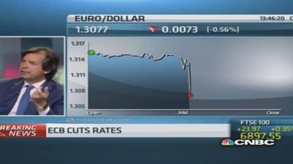 ECB decision good for Italian banks: CEO