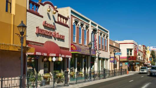 Carson Street in Carson City, Nevada
