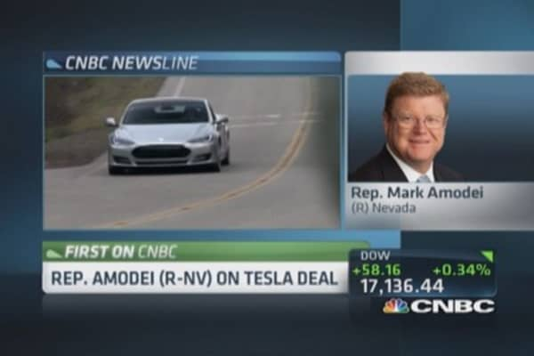 Nevada where Tesla needs to be: Rep. Amodei