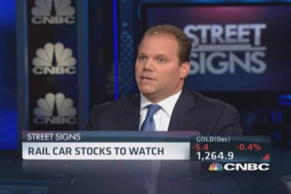 Rail car stocks to watch