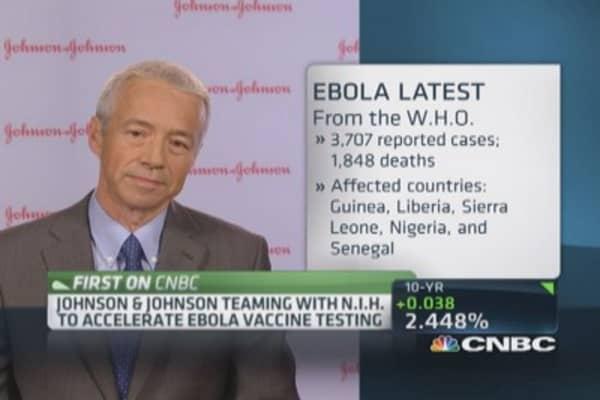 Accelerating Ebola vaccine