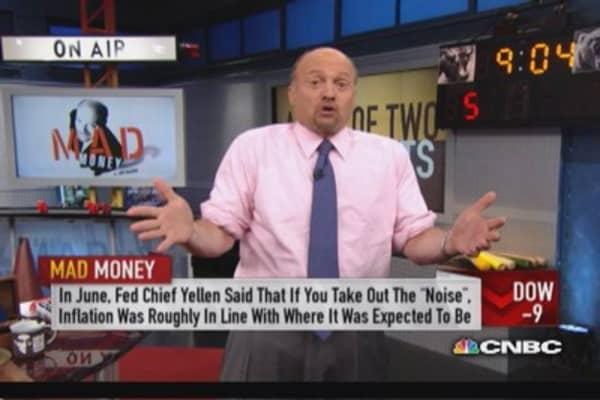Cramer: What's pushing stocks higher