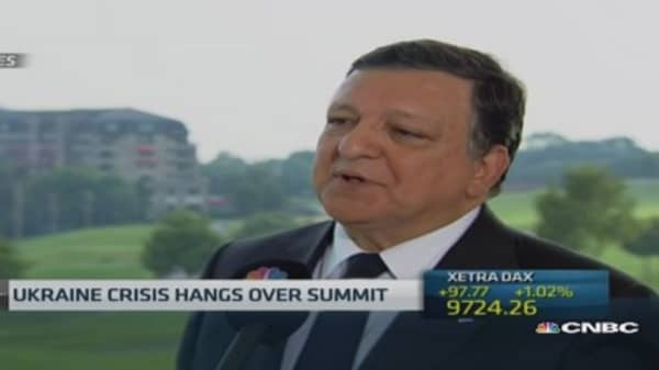 'Big important' tensions in Europe: Barroso
