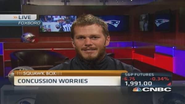 Patriots QB Tom Brady on concussions