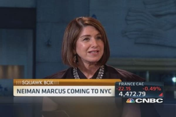Neiman Marcus' Big Apple debut