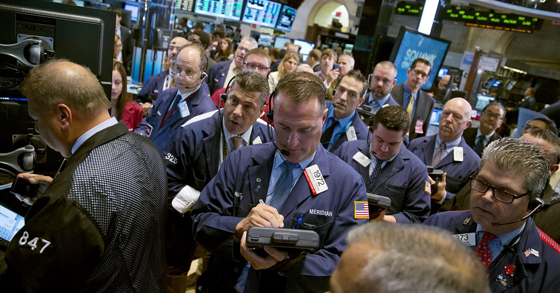 Znalezione obrazy dla zapytania Dow Jones Industrial Average