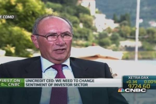 Italy needs labor reforms: UniCredit CEO
