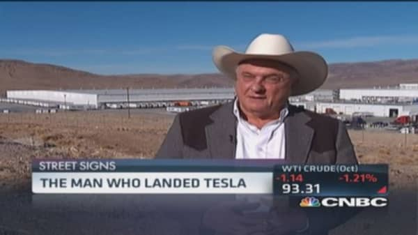 The man who landed Tesla