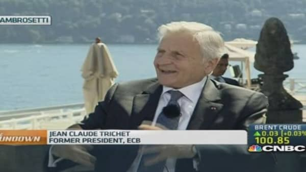 Trichet: ECB is moving in the right direction