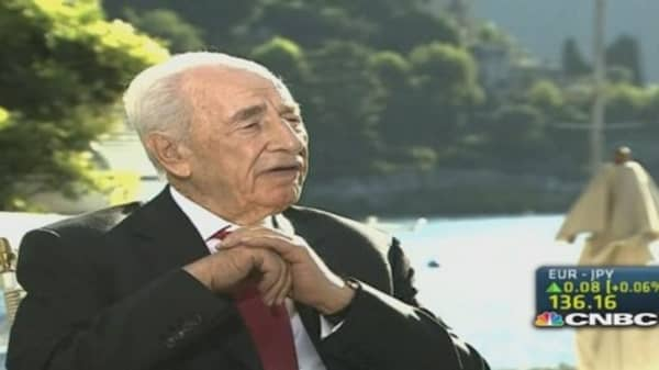 Peres: How to deal with a growing Islamic State
