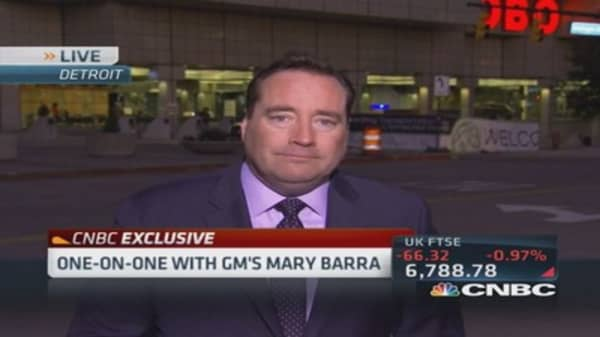 GM's future features self-driving cars: Barra
