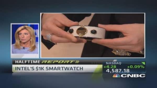 Intel's MICA smart bracelet