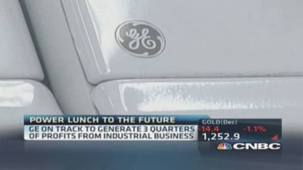 General Electric sells appliance business