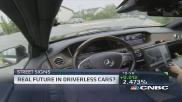 Reality for driverless cars