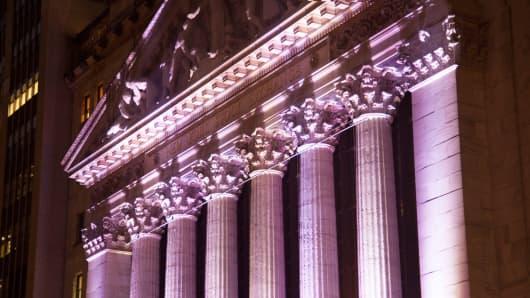 The New York Stock Exchange Wall Street