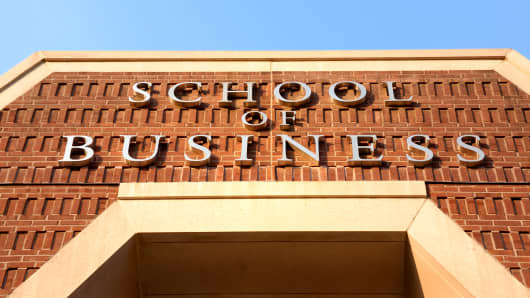 Business school MBA