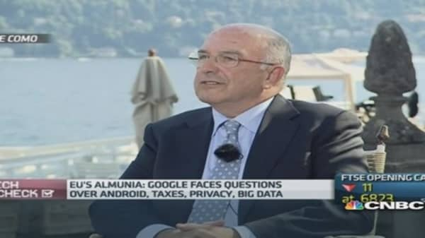 Google has questions to answer: EU Commissioner