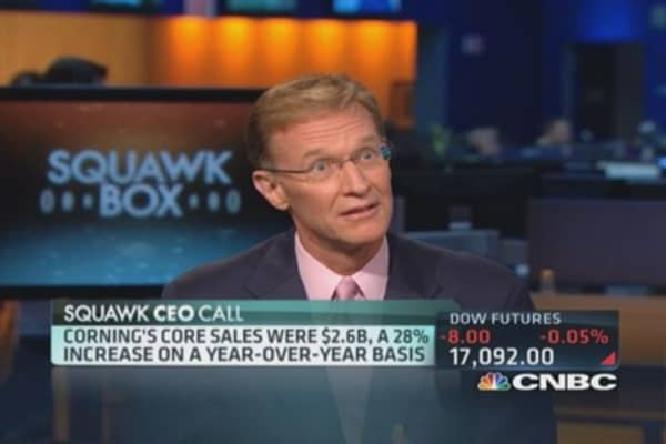 Corning CEO: We keep our secrets