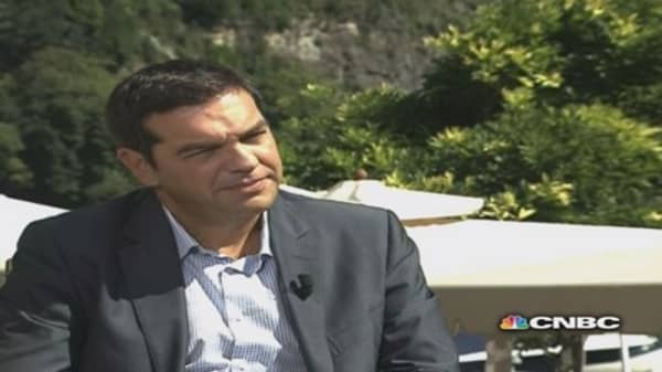 Greek opposition leader still committed to the euro