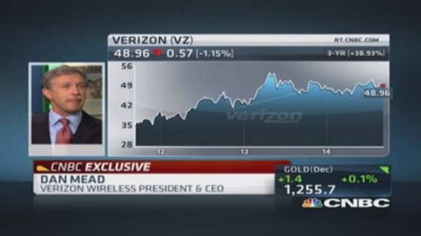 Verizon CEO: Devices at embryonic phase