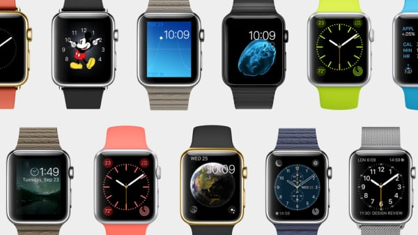 Apple Watch faces to choose...