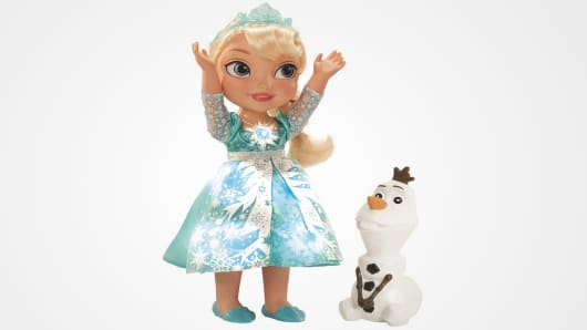 "The Disney ""Frozen"" Snow Glow Elsa Doll"