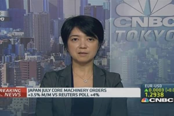 Don't worry about Japan machinery orders miss: Pro