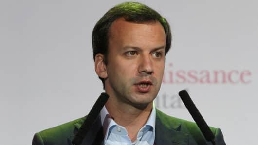 Arkady Dvorkovich, Russia's deputy prime minister