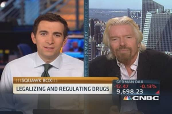 War on drugs has been a disaster: Branson