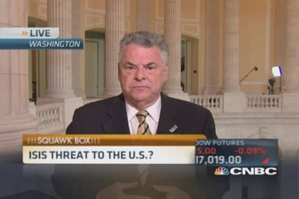 Rep. King: ISIS could attack at any time