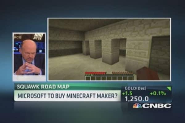 Cramer: Microsoft spinning Xbox