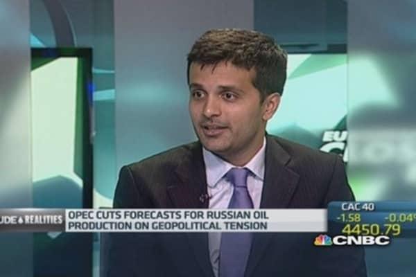 OPEC slashes global oil demand forecast