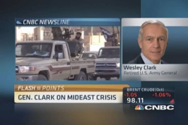ISIS a localized threat right now: Gen. Clark