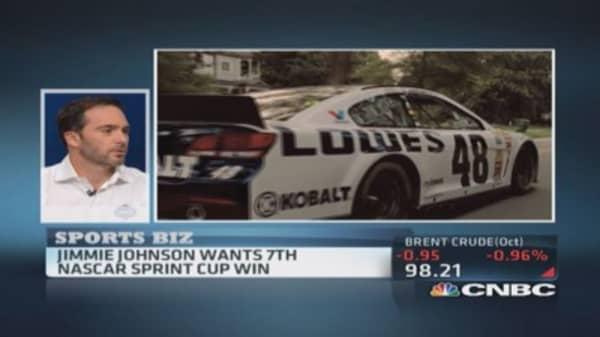 NASCAR's Johnson &