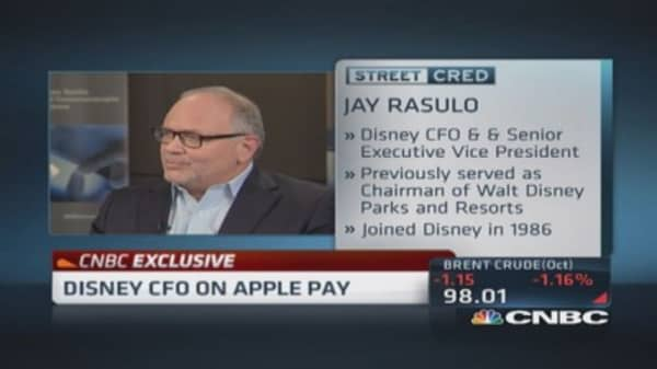 Disney on board with Apple Pay