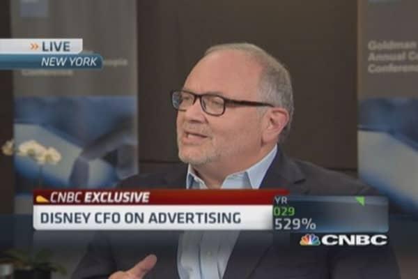 Disney talks digital vs. TV advertising