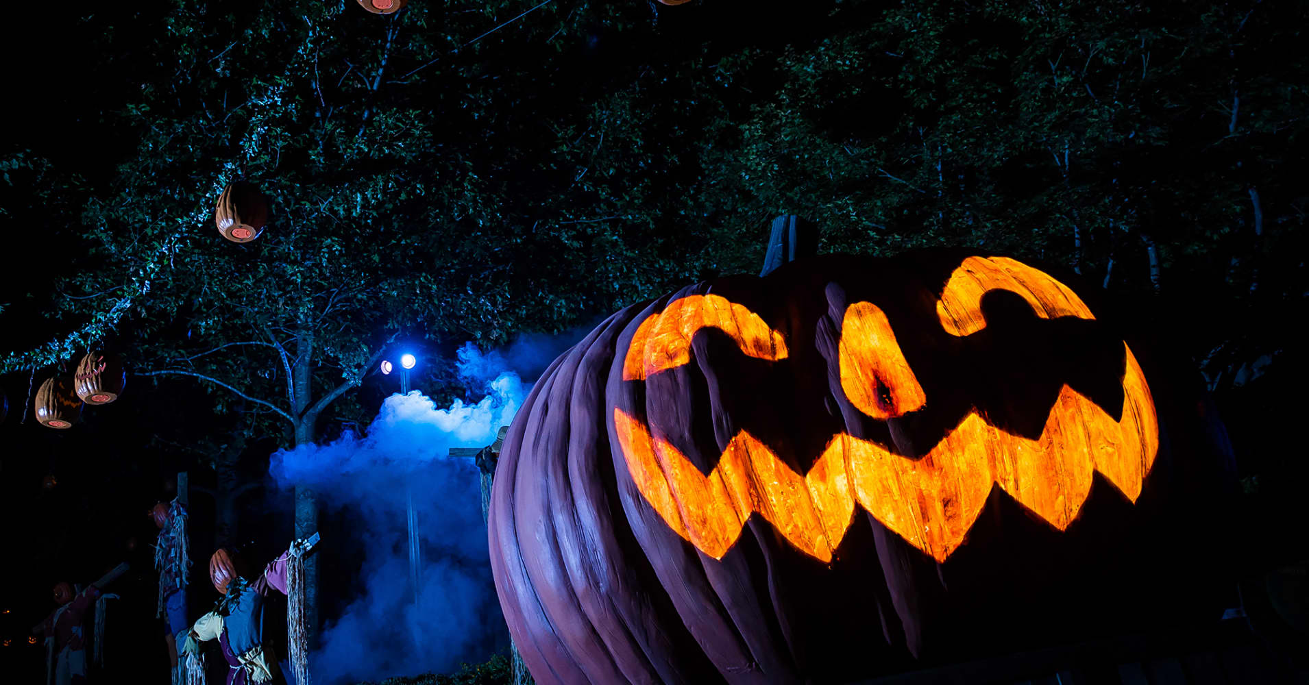 """Busch Gardens parks in Virginia and Florida will morph into """"Terror-tories"""" with six haunted houses for Halloween."""