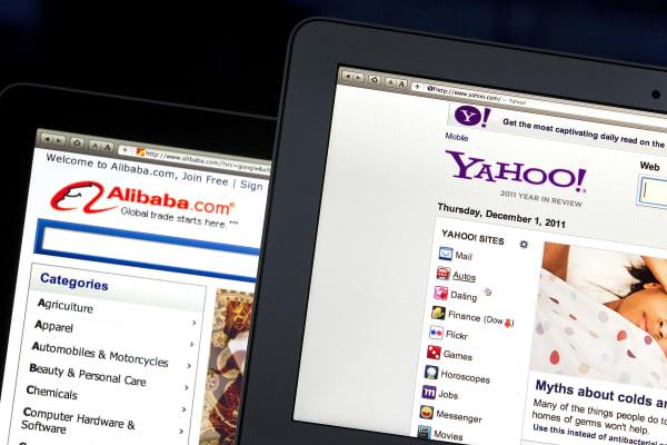 Alibaba Group Holdings Ltd. Yahoo